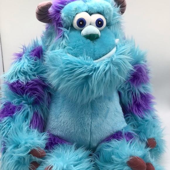 Disney Monsters Inc Sulley Furry Plush Stuffy